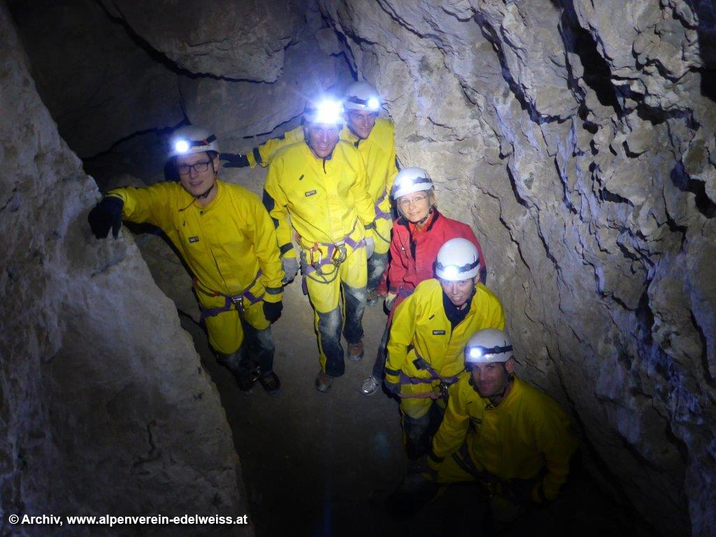 Schnupperkurs Höhlentrekking