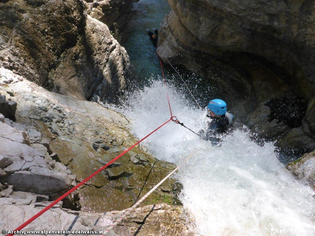 Advanced-Kurs Canyoning