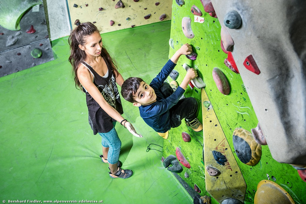 Bouldern Familie Advanced Fr