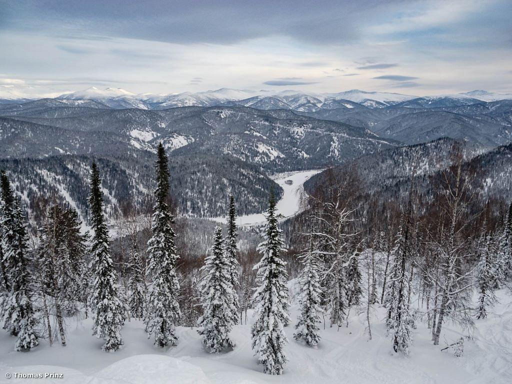 Genussskitouren in Sibirien