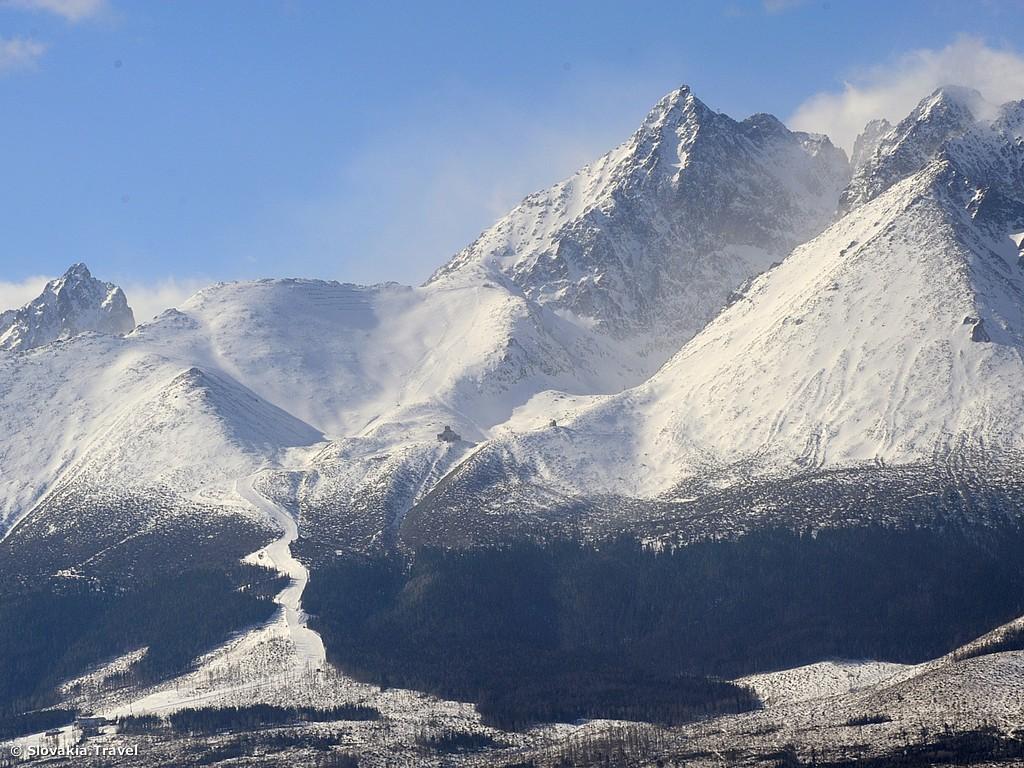 Freeriden in der slowakischen Tatra