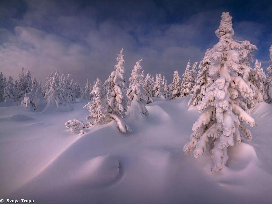 Schneeschuh-Trekking im Südlichen Ural