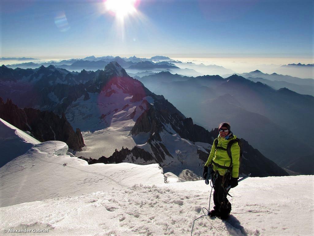Mt. Blanc 4.808 m + Gran Paradiso 4.061